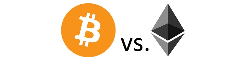 ethereum vs. bitcoin