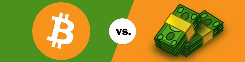 kryptoměny vs. peníze; alternativa, konkurence, bitcoin