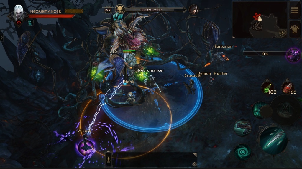 BlizzCon 2018; screenshot: Diablo