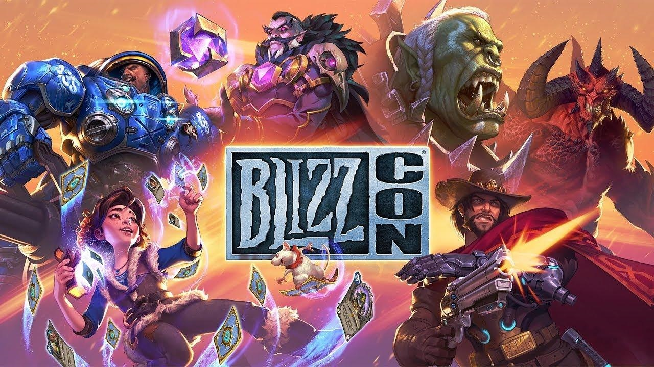BlizzCon 2018; screenshot: logo