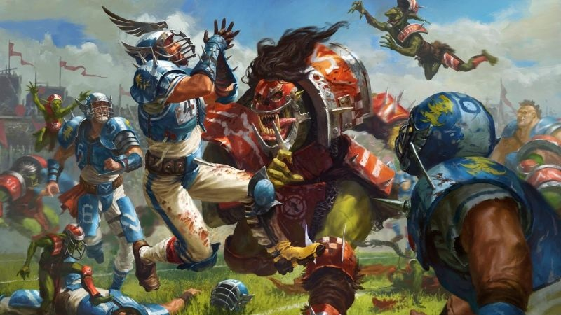 Blood Bowl; screenshot: cover