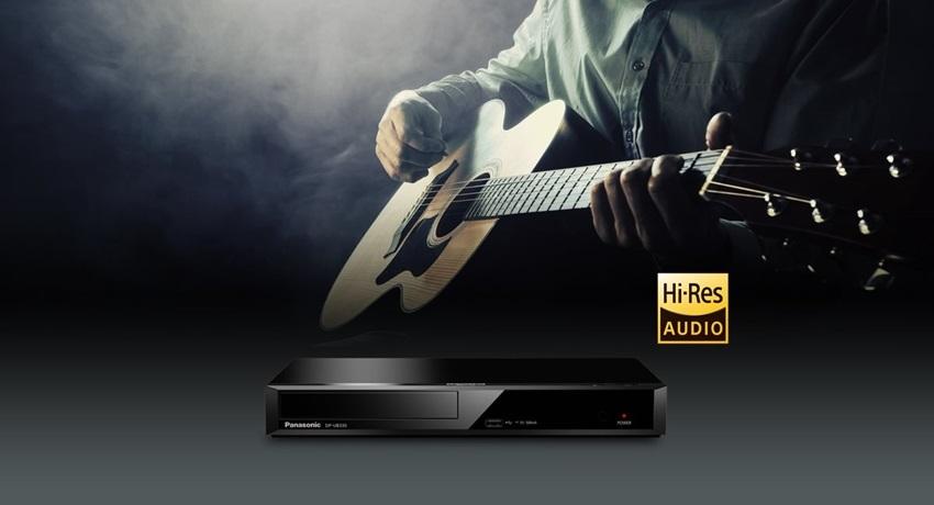 Blu ray Panasonic zvuk