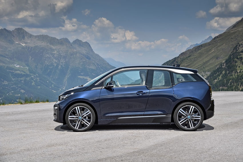 BMW i3, boční pohled