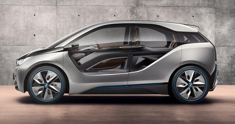Elektrický automobil, BMW i3, konstrukce
