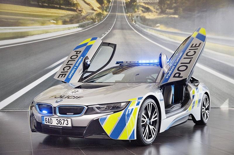 BMW i8, Policie ČR