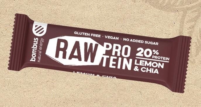 Bombus - RAW tyčinka, protein