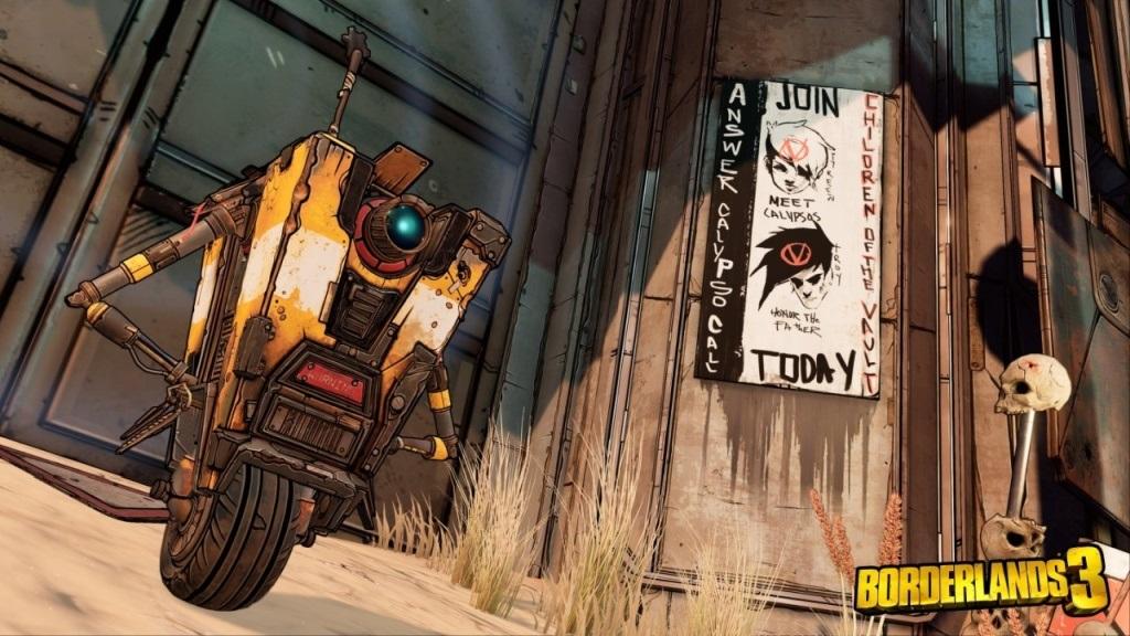 Borderlands 3; screenshot: Clap trap