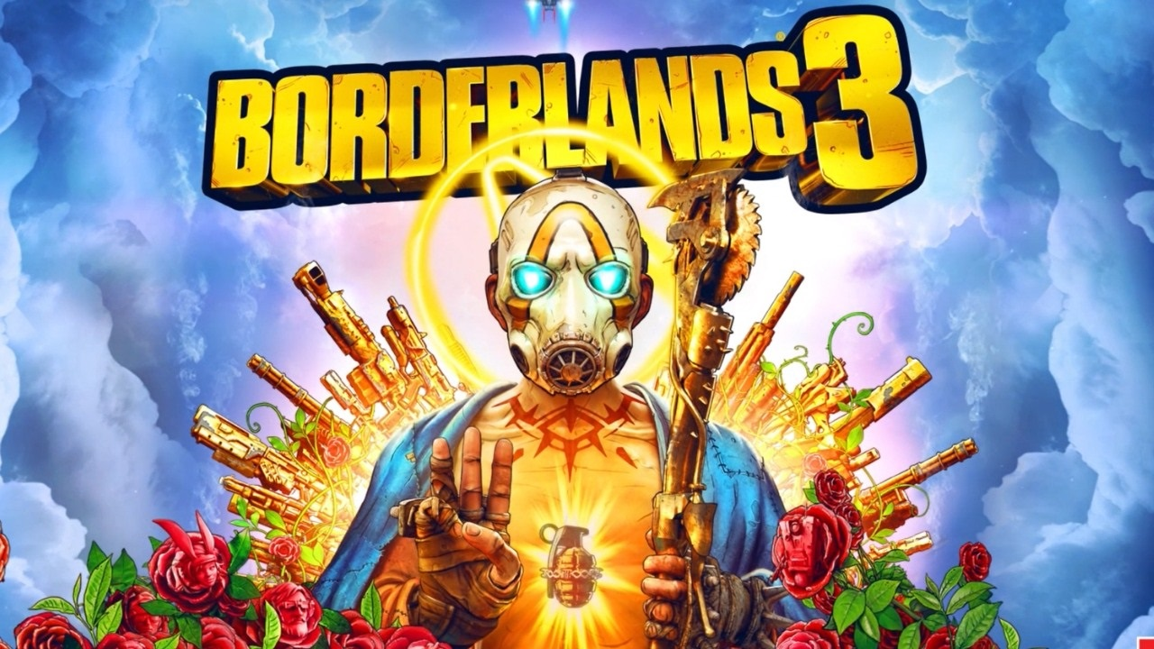 Borderlands 3; screenshot: cover, logo