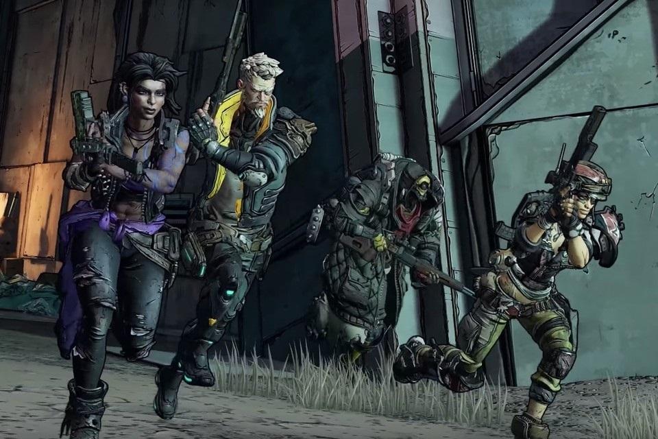 Borderlands 3; screenshot: hrdinové