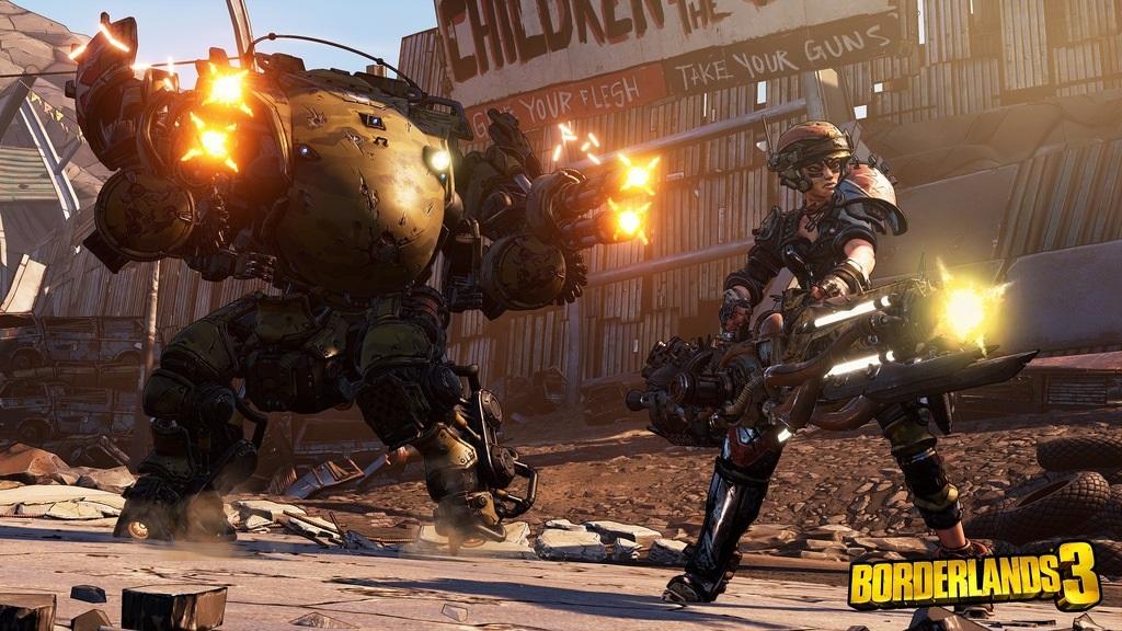 Borderlands 3; screenshot: Moze