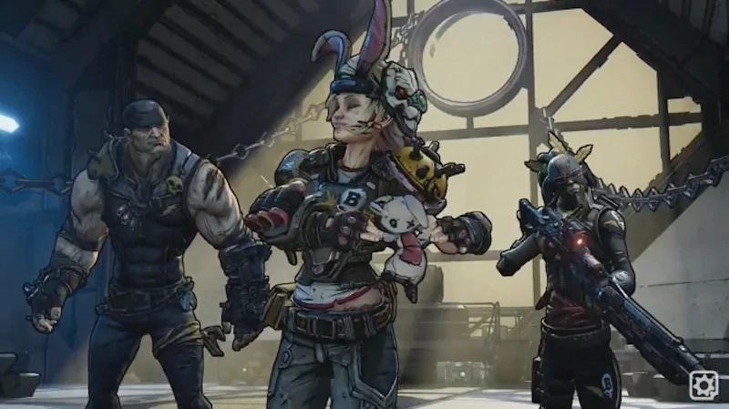 Borderlands 3; screenshot: původní hrdinové