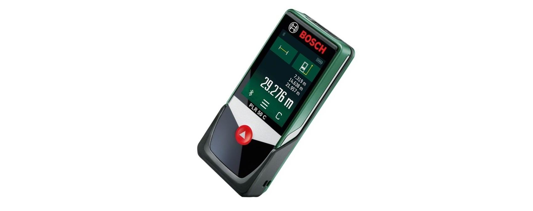 Bosch PLR 50 C - povedený digitální laserový dálkoměr