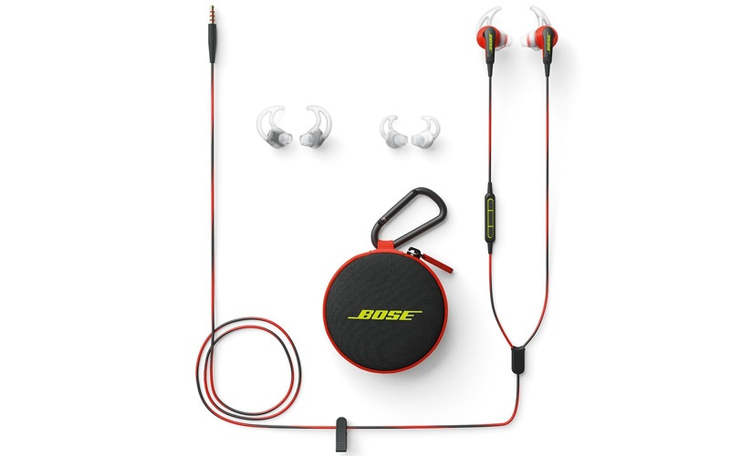 Bose SoundSport, obsah balení