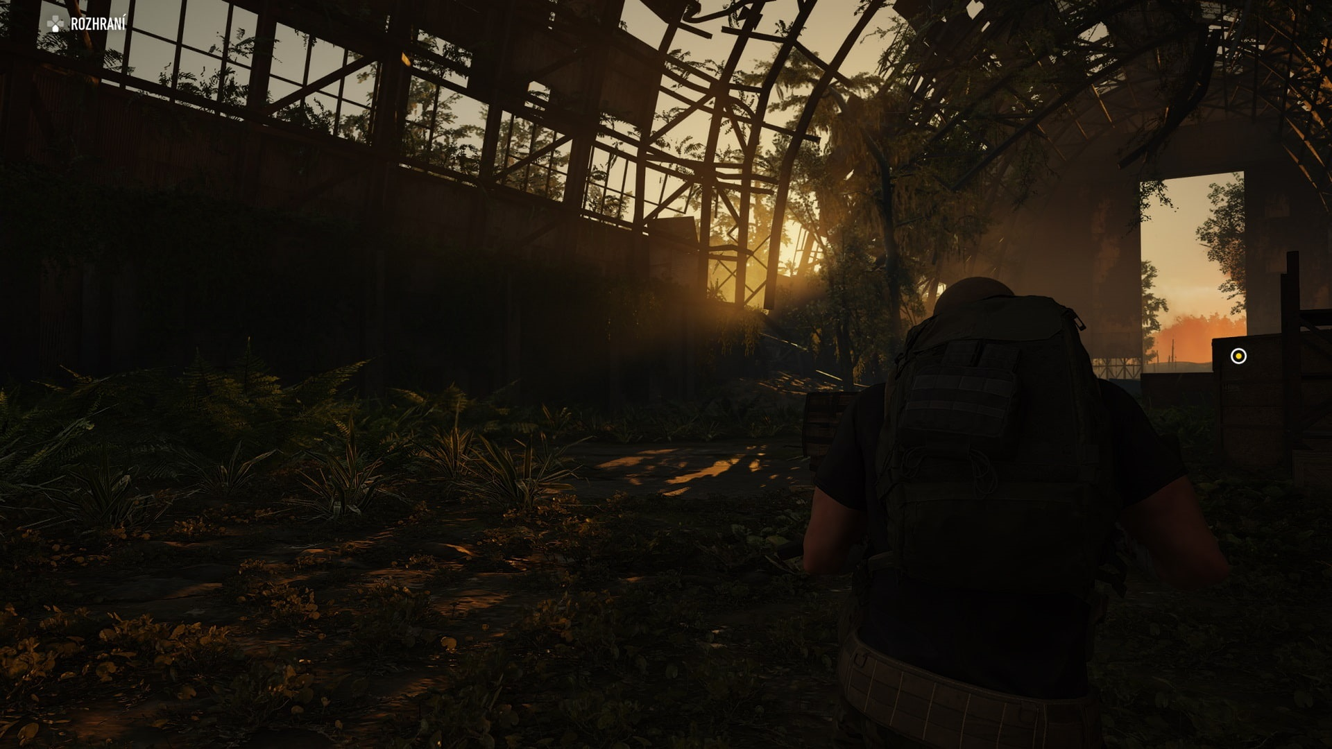 Ghost Recon Breakpoint; gameplay: slunce