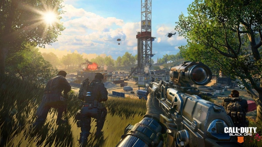 Call of Duty: Black Ops 4; screenshot: mapa