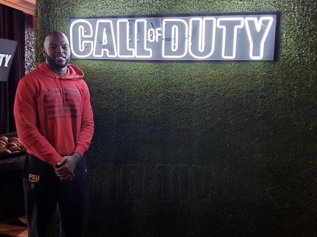 Call of Duty Partner event; screenshot: Jacques Patrick