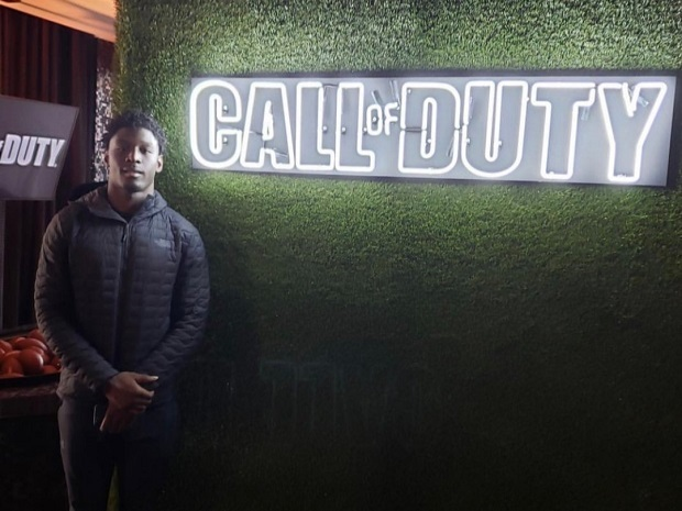 Call of Duty Partner event; screenshot: Riley Ridley