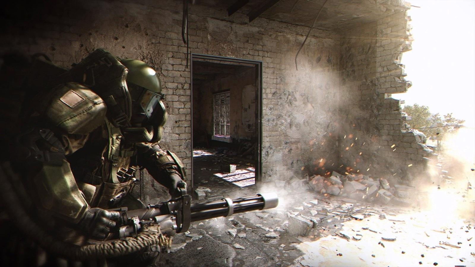 Call of Duty: Modern Warfare; wallpaper: juggernaut