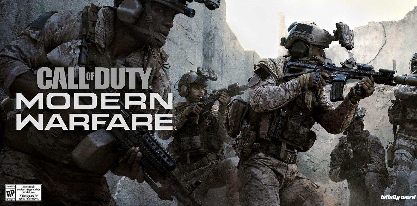Call of Duty: Modern Warfare; screenshot: cover