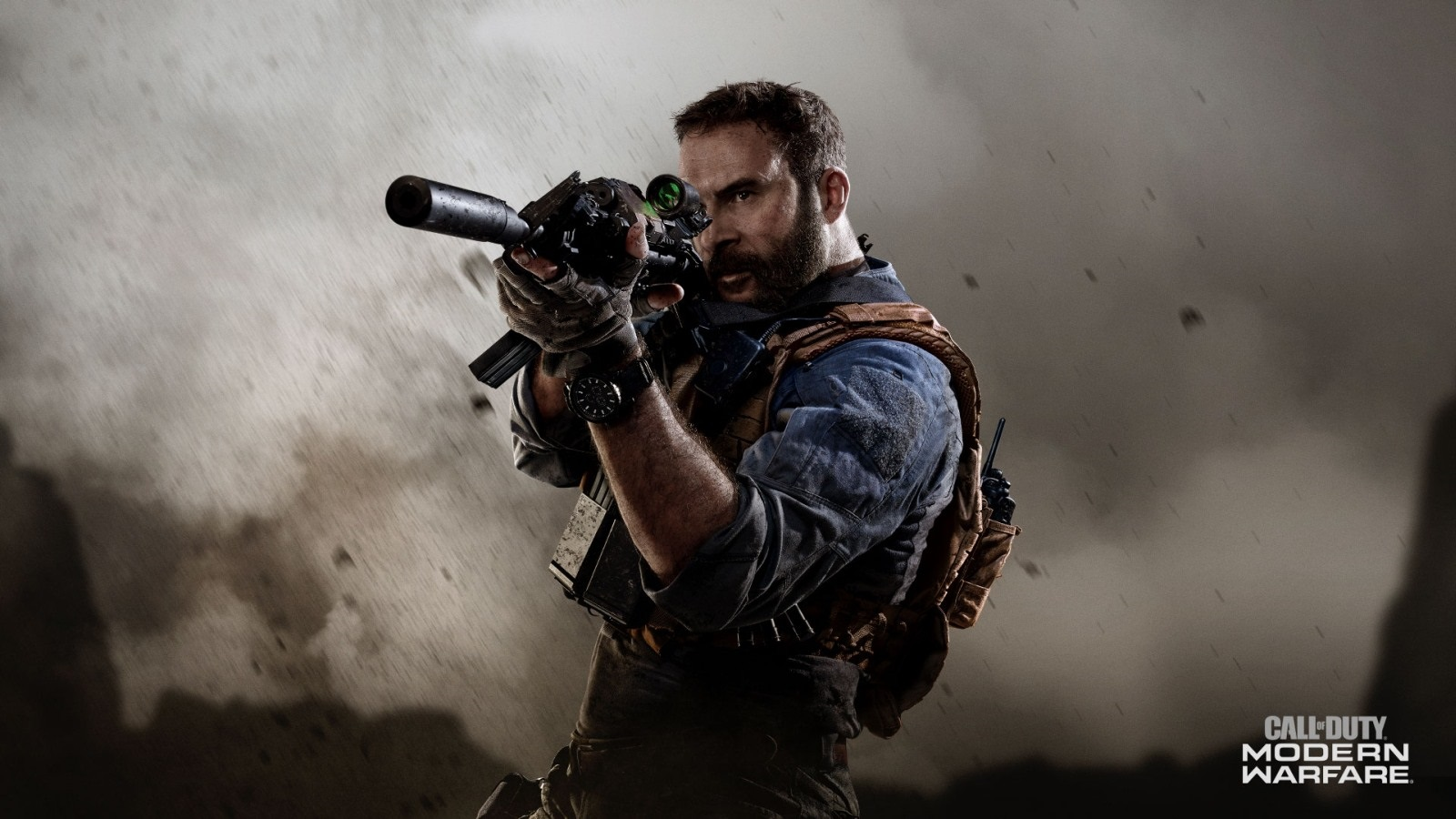 Call of Duty Modern Warfare; screenshot: scope