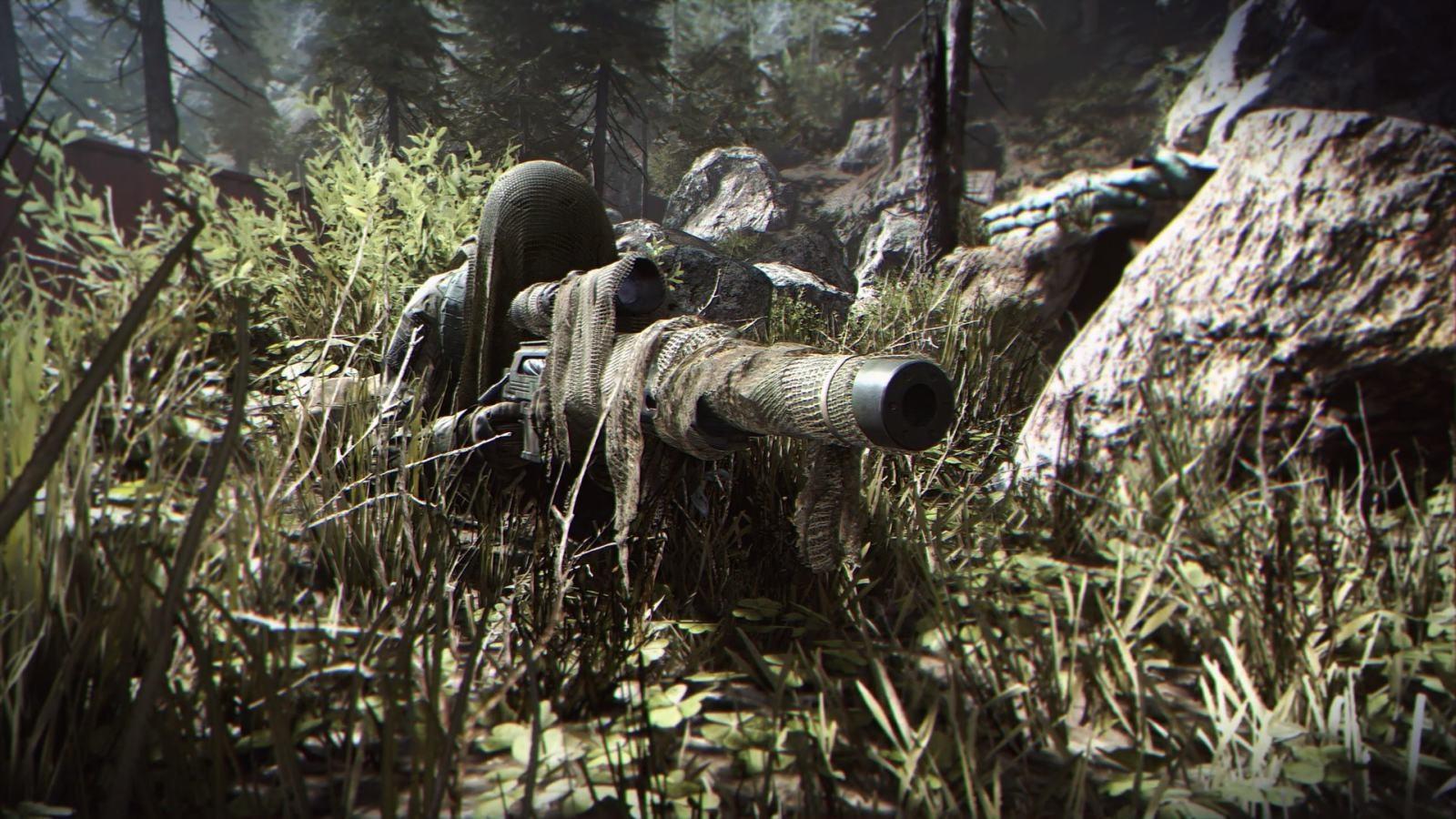 Call of Duty: Modern Warfare; wallpaper: sniper