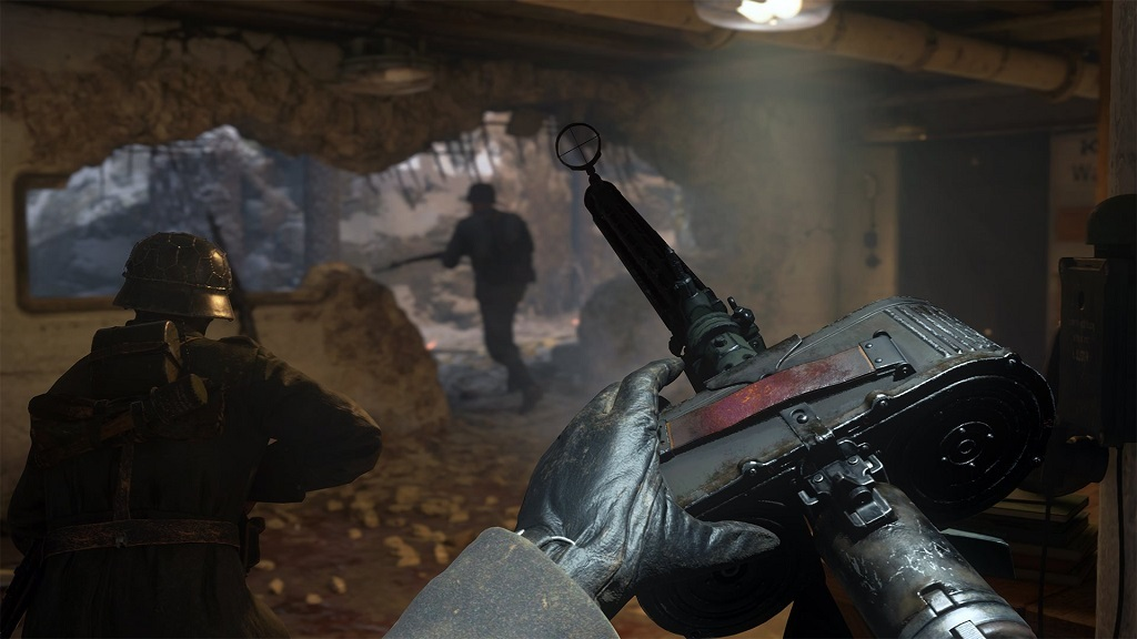 Call of Duty: WWII; německý kulomet, mg 15