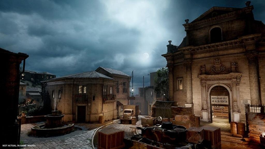 Call of Duty: WW2; Operace Husky