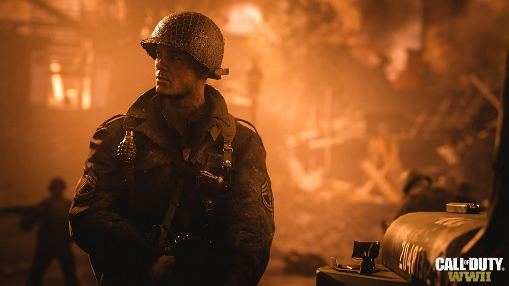 Call of Duty: WW2; soldier
