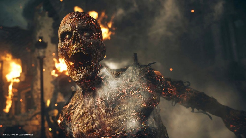 Call of Duty: WW2; zombie mise Shadowed Throne