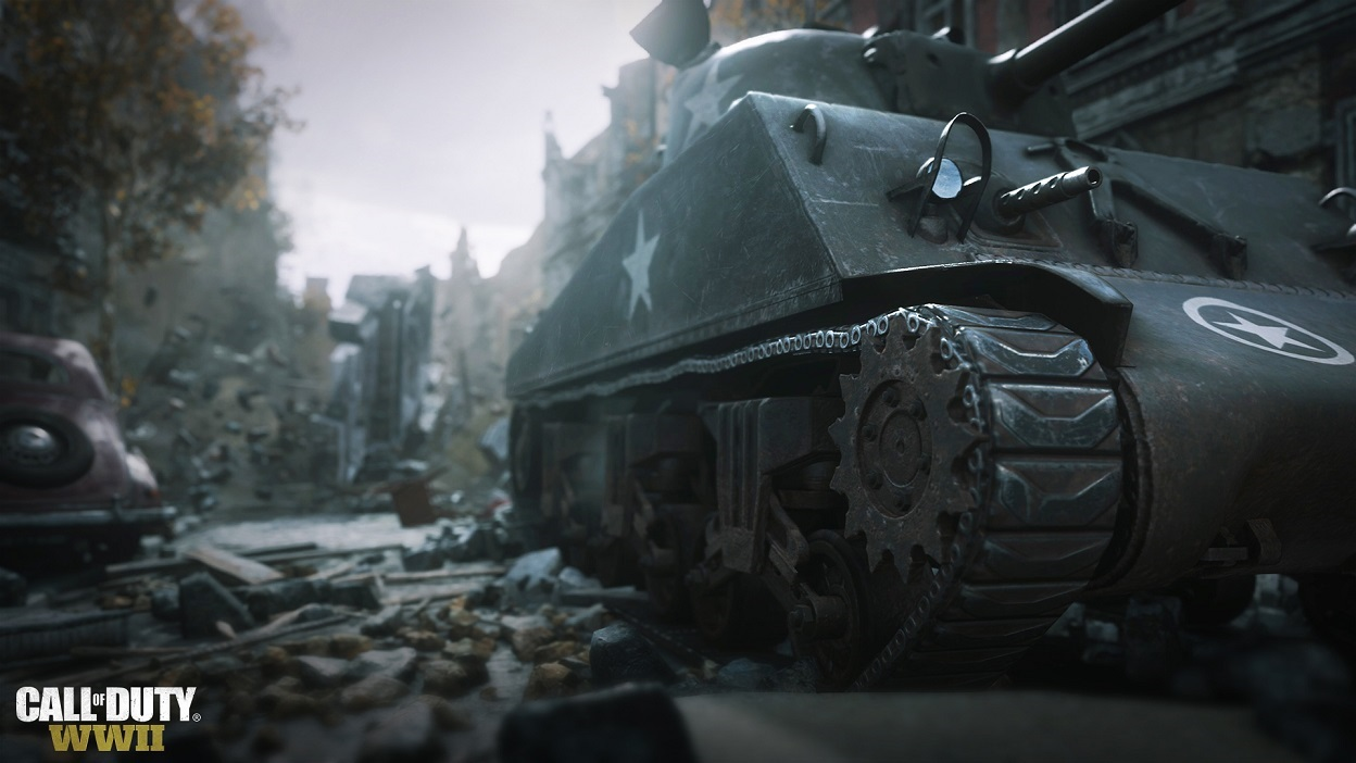 Call of Duty WWII; M4 Sherman
