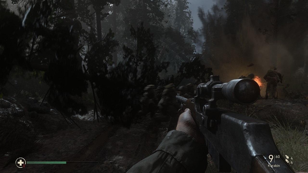 Call of Duty WW2; omaha, vylodění
