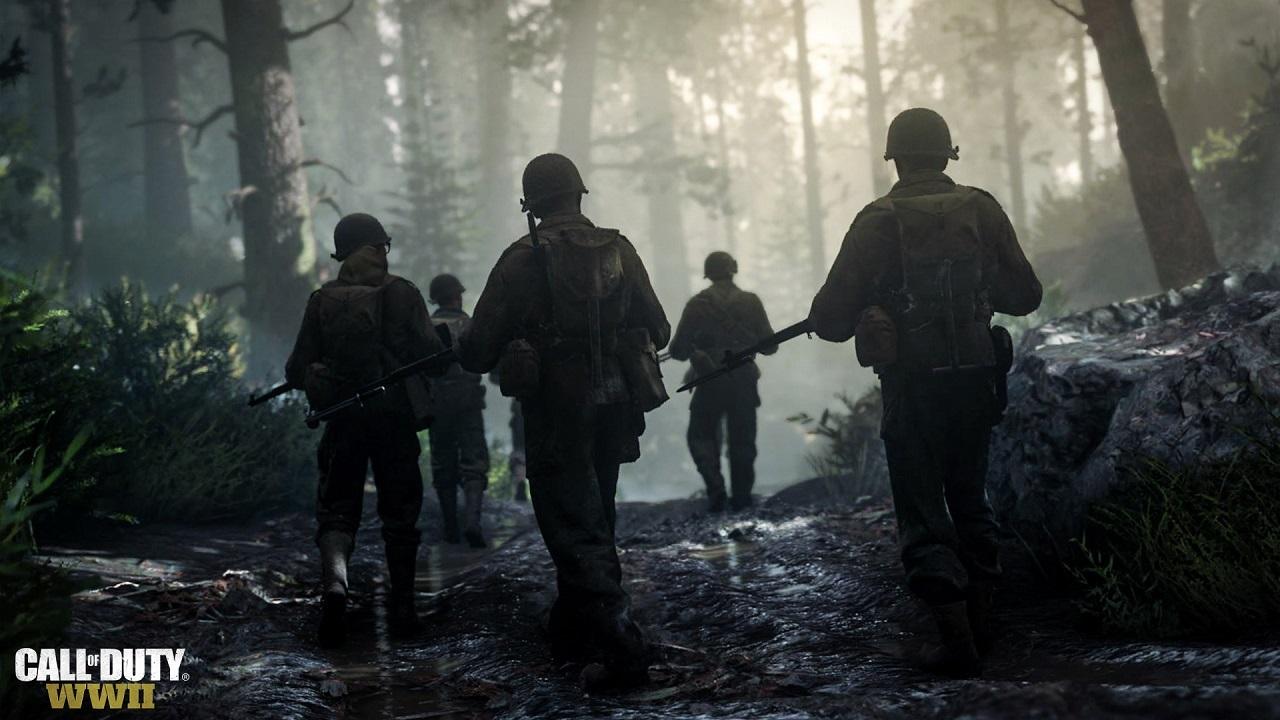 Call of Duty WW2; squad, vojaci