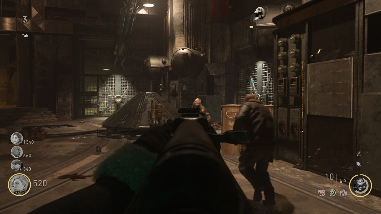 Call of Duty: WWII; zombie