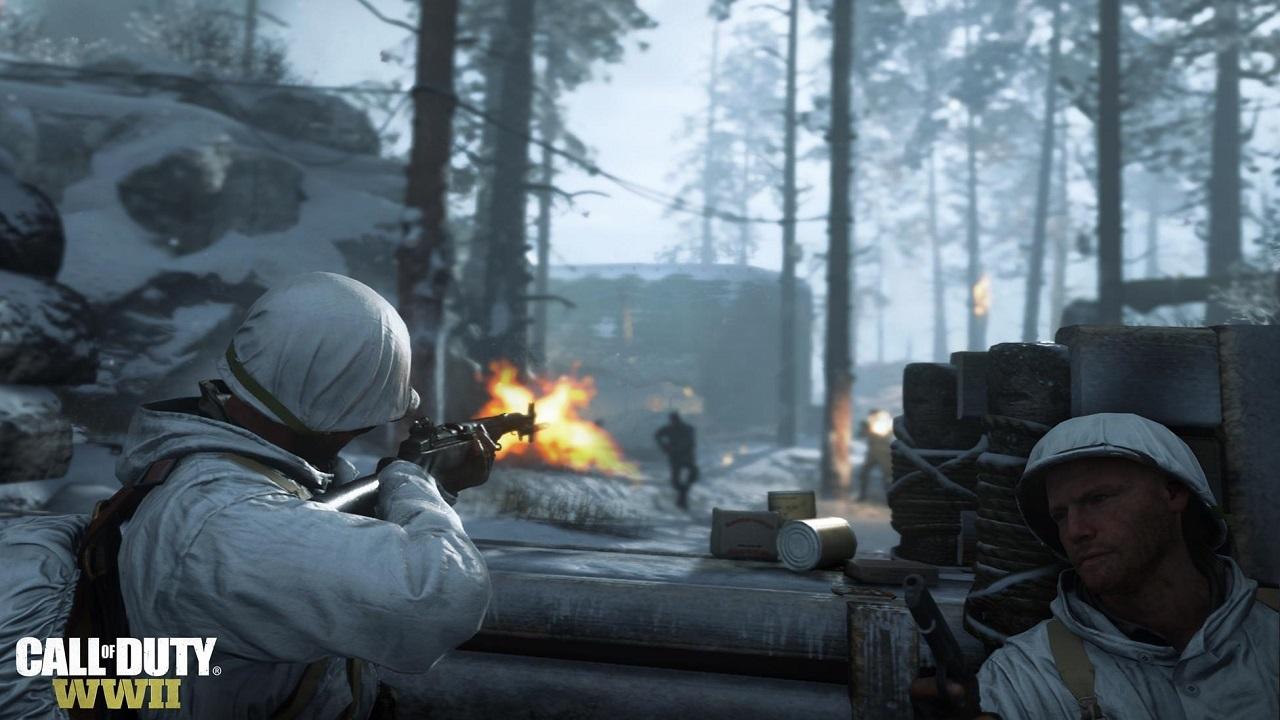 Call of Duty: WWII zima vojáci