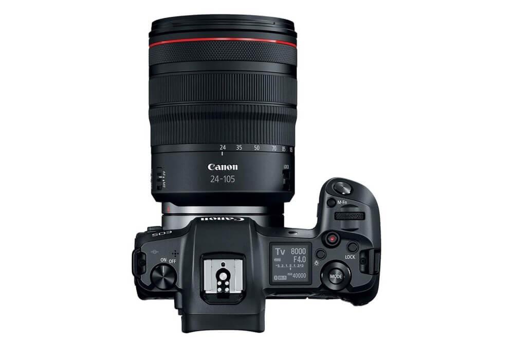Bezzrcadlovka Canon EOS R
