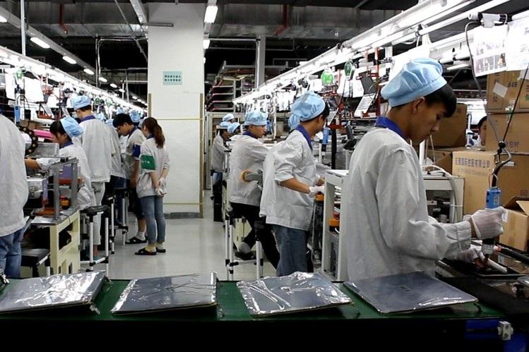 Výroba notebooku, laptopu