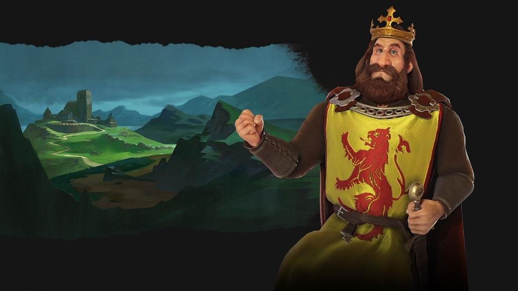 Civilization VI: Rise and Fall, Robert the Bruce, Scots