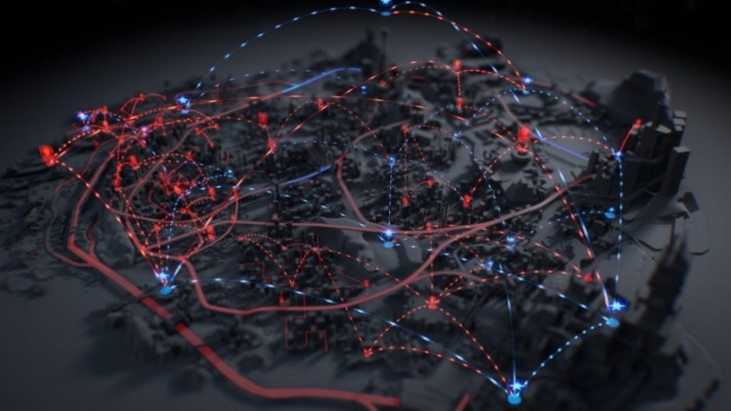 Crackdown 3; screenshot: město