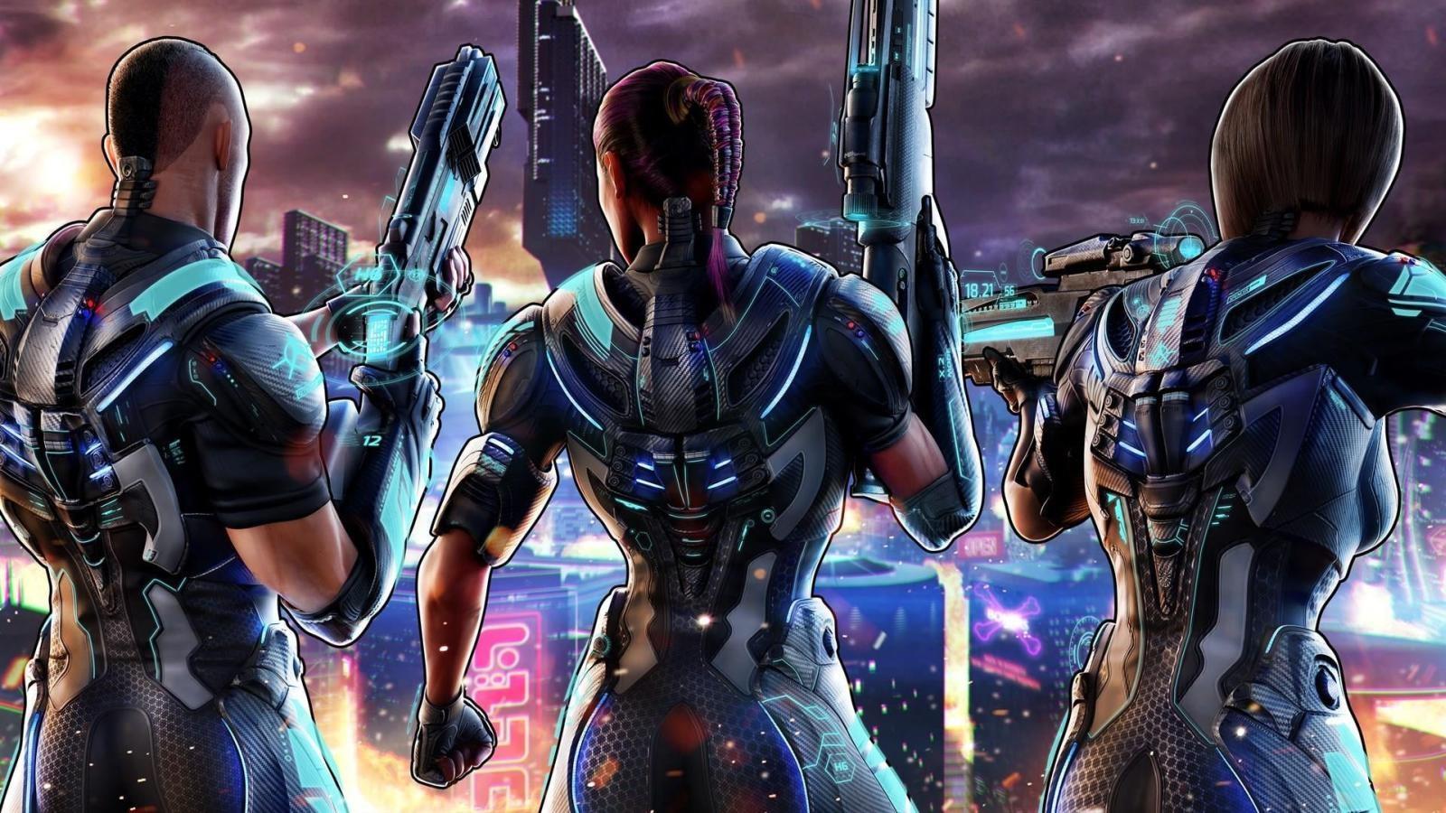 Crackdown 3; screenshot: multiplayer, cover