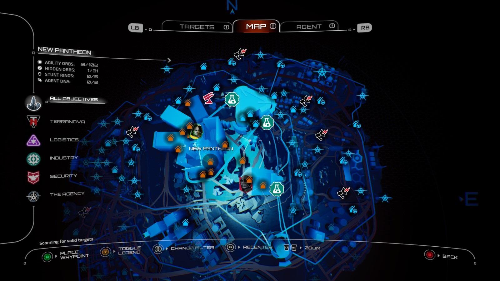 Crackdown 3; gameplay: mapa