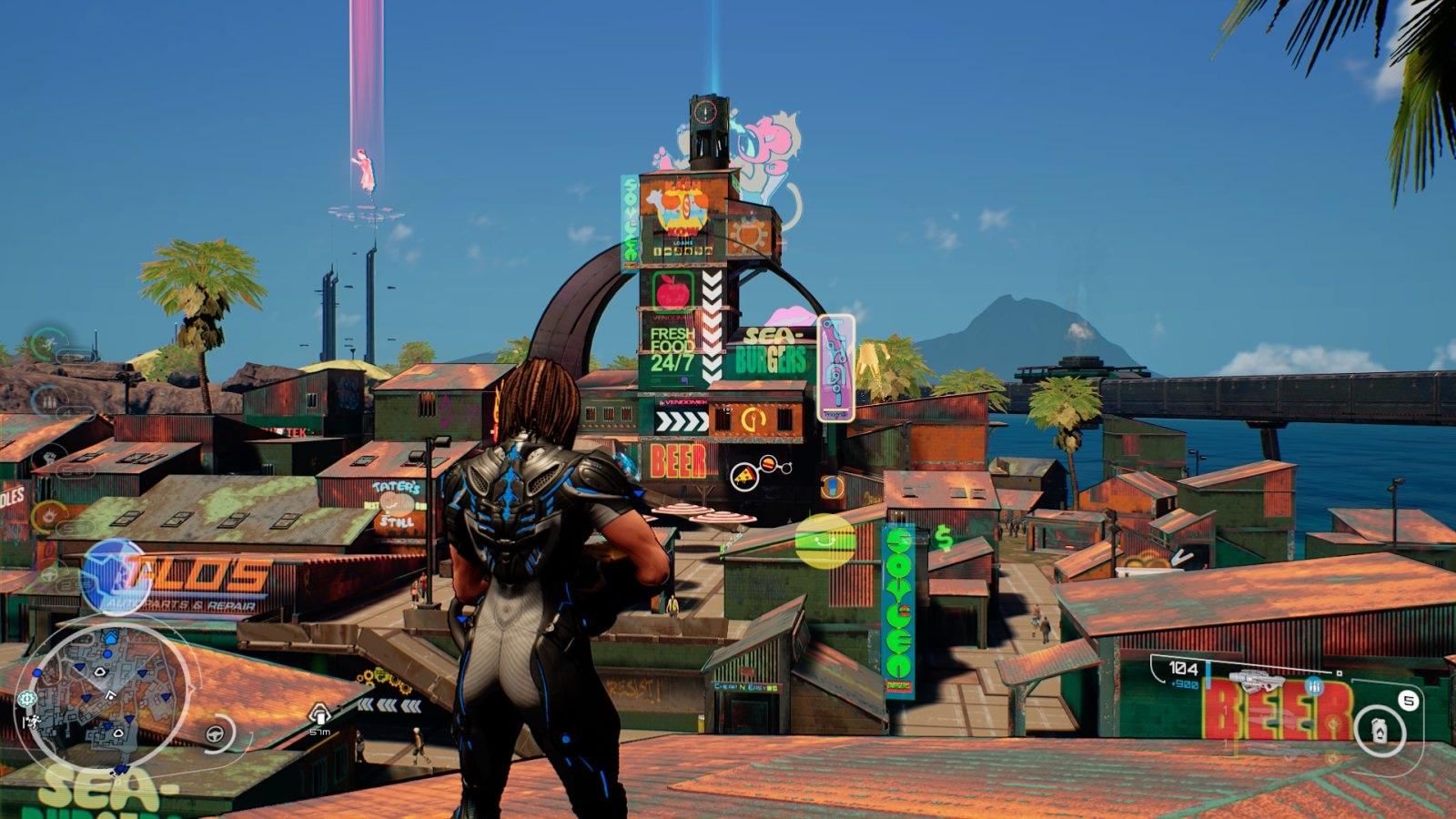 Crackdown 3; gameplay: slum
