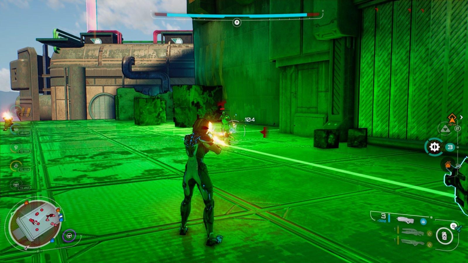 Crackdown 3; gameplay: střelba