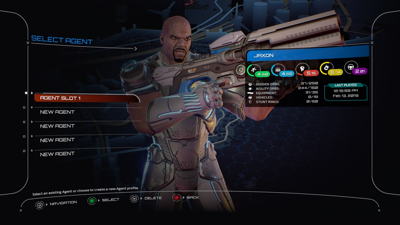 Crackdown 3; gameplay: Terry