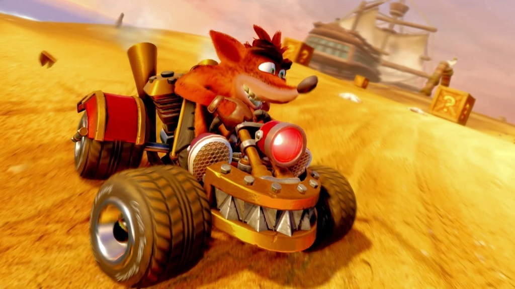 Crash Team Racing Nitro-Fueled; screenshot: auto