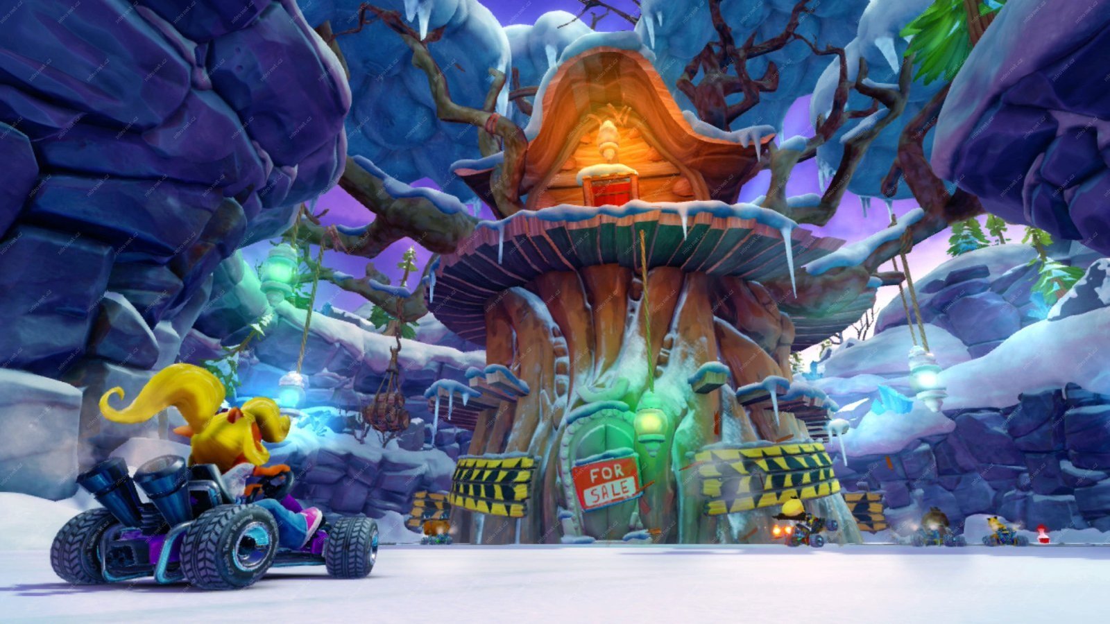 Crash Team Racing Nitro-Fueled; screenshot: level