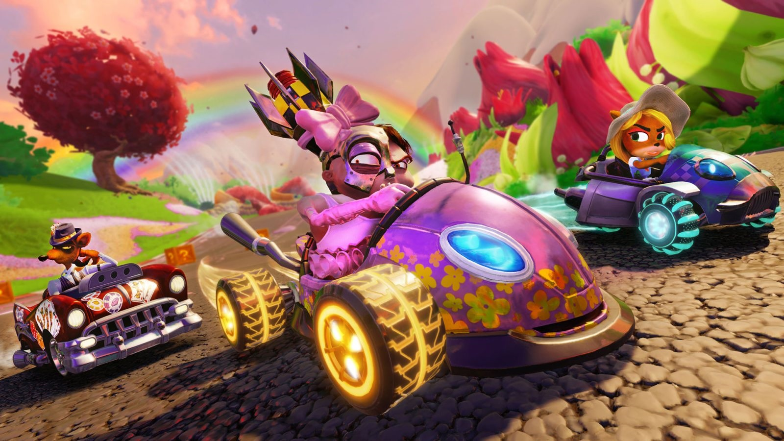 Crash Team Racing Nitro-Fueled; wallpaper: multiplayer