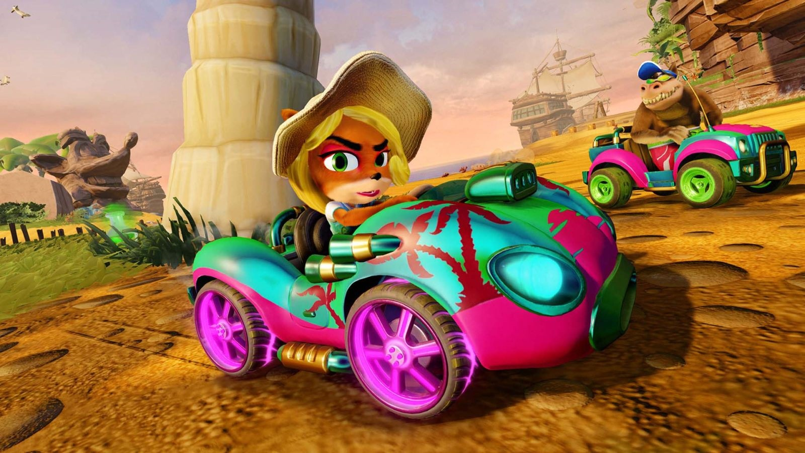 Crash Team Racing Nitro-Fueled; screenshot: Tawna