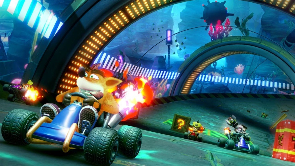 Crash Team Racing Nitro-Fueled; screenshot: power up