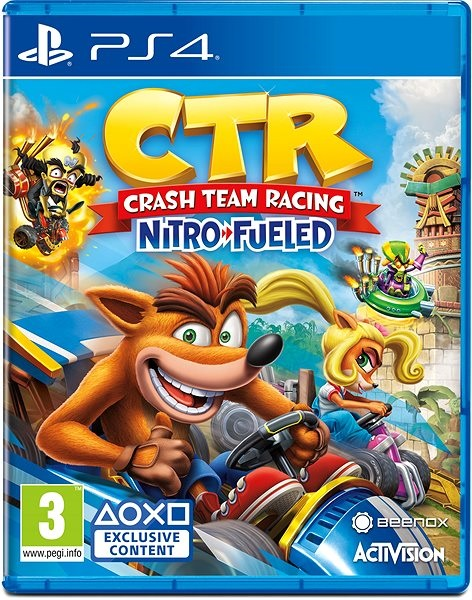 Crash Team Racing Nitro-Fueled; recenze