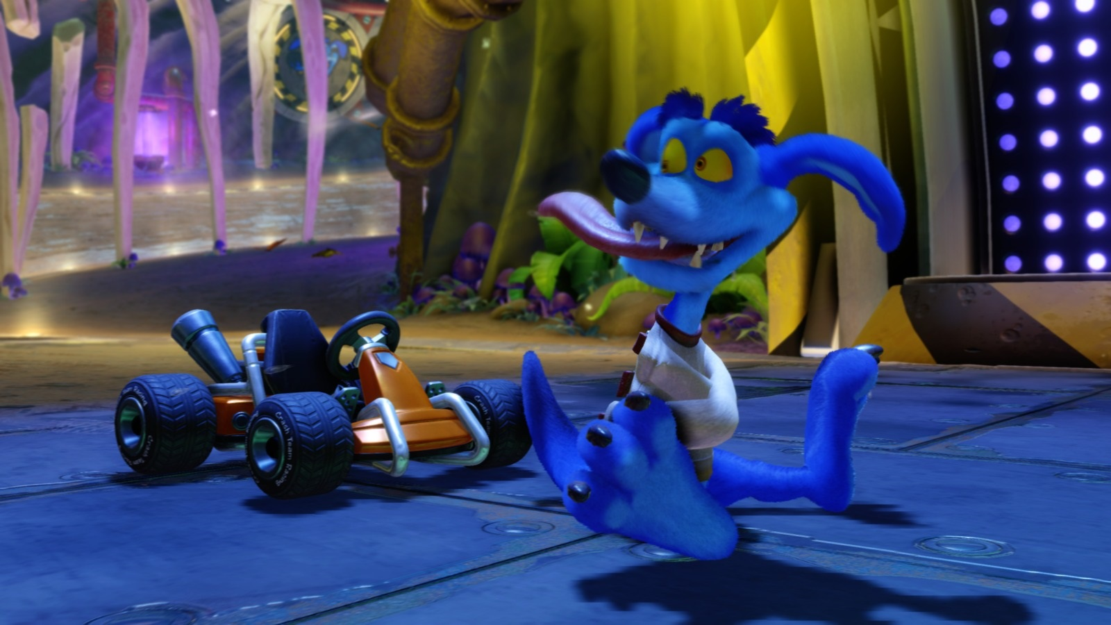 Crash Team Racing Nitro-Fueled; gameplay: Ripper